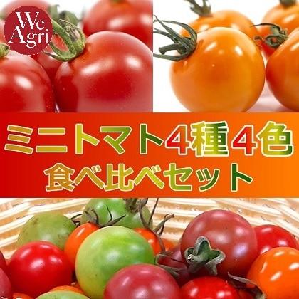 ミニトマト4種4色食べ比べセット