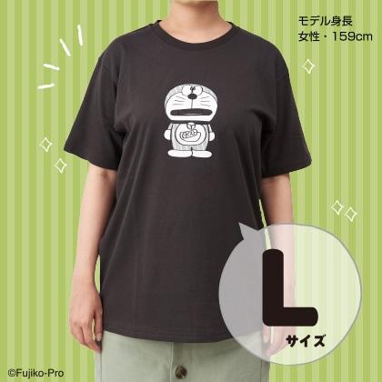 ドラえもん Tシャツ(代用シール柄)L