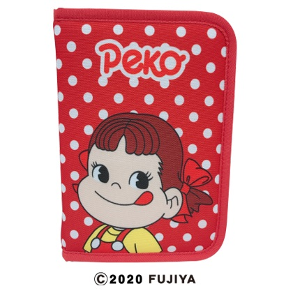 ペコちゃん 通帳カードケース