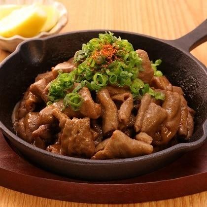 まぼろしの味噌使用もつの味噌焼き