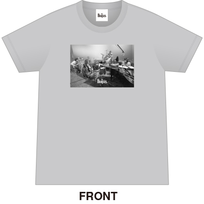 ザ・ビートルズTシャツ カラー グレー サイズXL