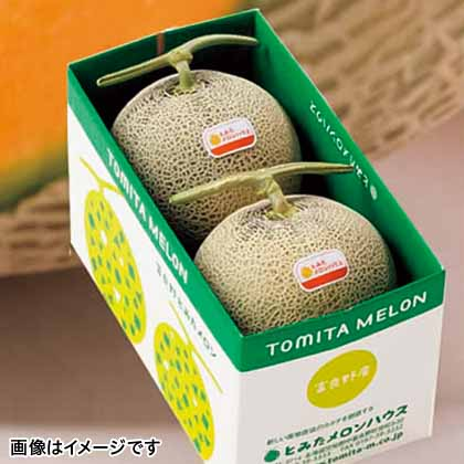 【期間限定商品】富良野メロン2玉詰め