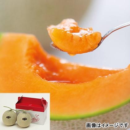 【期間限定商品】富良野厳選赤肉メロン2個