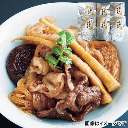 山形県産黒毛和牛すき煮 6袋