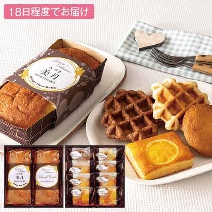 ガトー・デリシュー 焼菓子10個詰合せ(お名入れ)【出産祝い用】