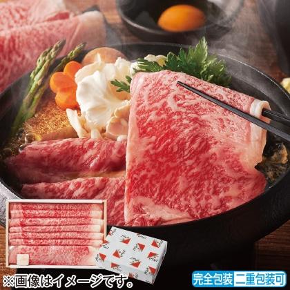 <※お中元対象商品>松阪牛 ロースすき焼き肉 400g