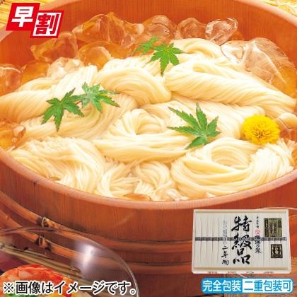 <※お中元対象商品>揖保乃糸特級素麺 ひね物B
