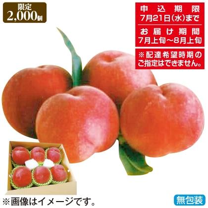<※お中元対象商品>山梨の桃(白鳳・白桃)