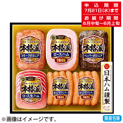 <※お中元対象商品>日本ハム 本格派ギフトセット NH−386