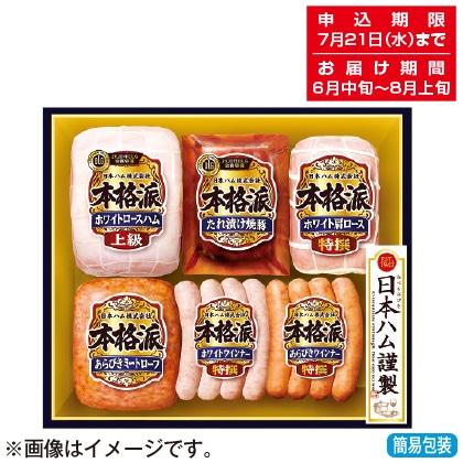 <※お中元対象商品>日本ハム 本格派ギフトセット NH−509