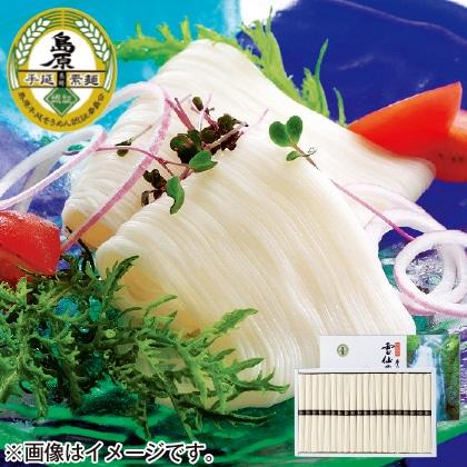 <※お中元対象商品>島原手延素麺雲仙の白糸