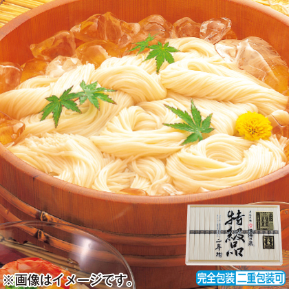 <※お中元対象商品>揖保乃糸特級素麺 ひね物A