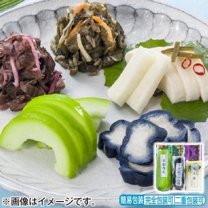 <※お中元対象商品>京漬物「夏の味わい」