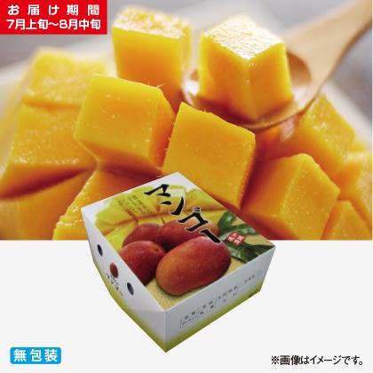 <※お中元対象商品>沖縄県産完熟マンゴー 1.5kg