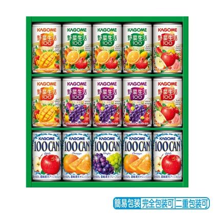<※お中元対象商品>カゴメ フルーツ&野菜飲料ギフト KSR−20L