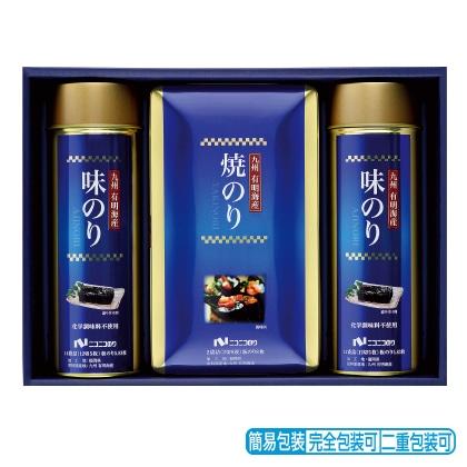 <※お中元対象商品>ニコニコのり 九州有明海産のり詰合せ AGS−30