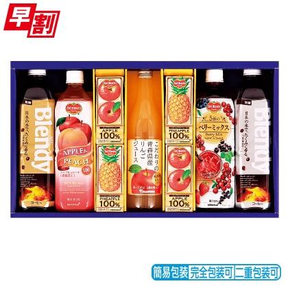 <※お中元対象商品>ブレンディ&果汁飲料 バラエティギフト NWA−30BL