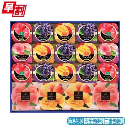 <※お中元対象商品>源楽製菓 フルーツデザート詰合せ LH−30