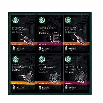 <※お中元対象商品>スターバックス オリガミパーソナルドリップコーヒーギフト
