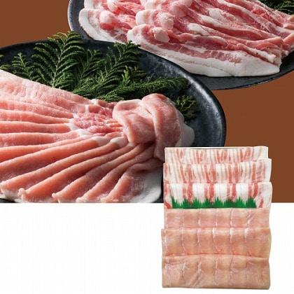 <※お中元対象商品>大阪 黒門萬野総本店 鹿児島県産豚肉冷しゃぶ食べ比べ