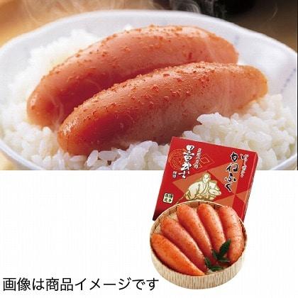 <※お中元対象商品>かねふく 黒田武士明太子無着色 樽