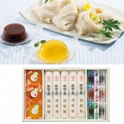 <※お中元対象商品>揖保乃糸 素麺・デザート詰合せ