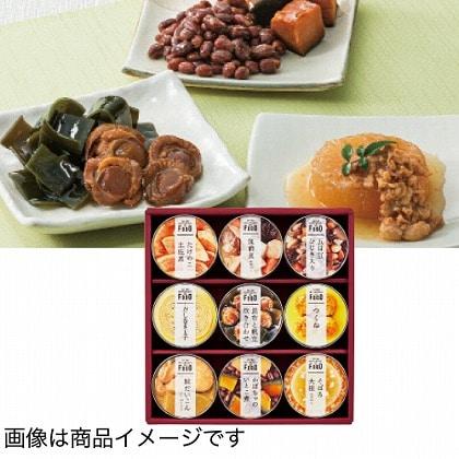 <※お中元対象商品>ミツコシイセタン ザ・フード 和惣菜缶詰詰合せ