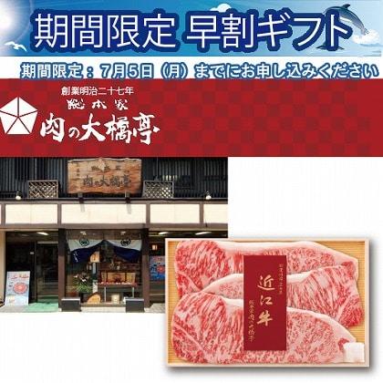 <※お中元対象商品>近江牛サーロインステーキ用