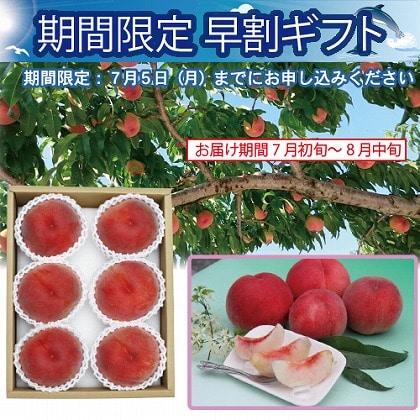 <※お中元対象商品>山梨県産 甲斐の郷美桃 1.8kg