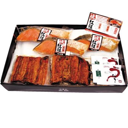 <※お中元対象商品>鰻串焼・焼紅鮭