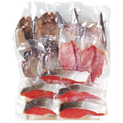 <※お中元対象商品>ひもの・紅鮭詰合せ