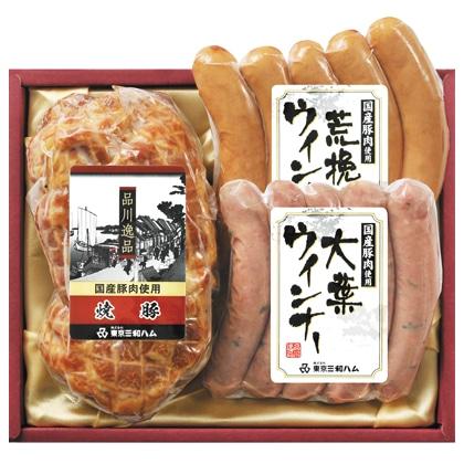<※お中元対象商品>品川逸品焼豚・ウィンナ−セット