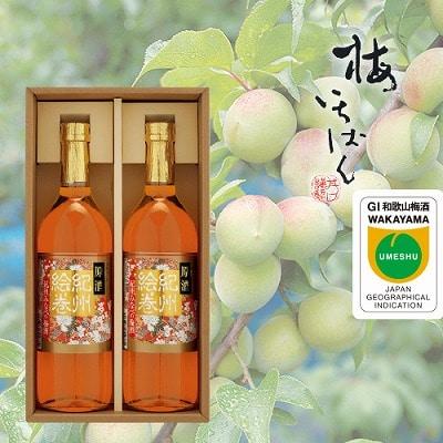 <※お中元対象商品>本格梅酒 原酒紀州絵巻