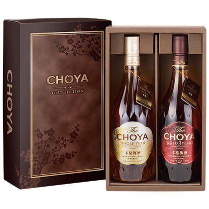 <※お中元対象商品>チョーヤ梅酒 The CHOYA  2本セット