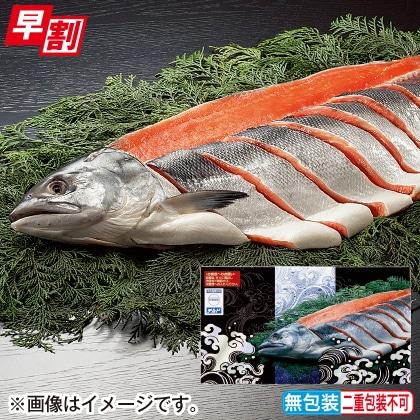 <※お歳暮対象商品>新巻鮭(半身)