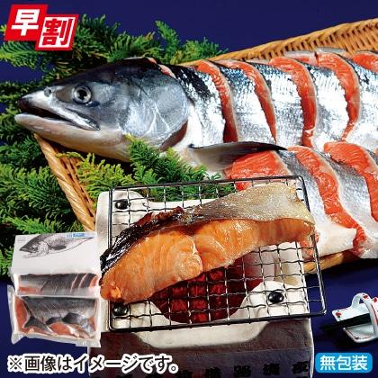 <※お歳暮対象商品>オホーツク発・銀毛鮭(1.7kg)
