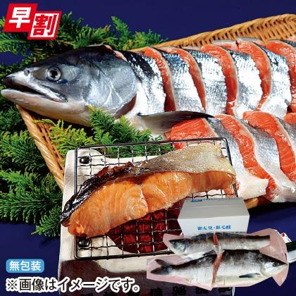 <※お歳暮対象商品>オホーツク発・銀毛鮭(2.5kg)