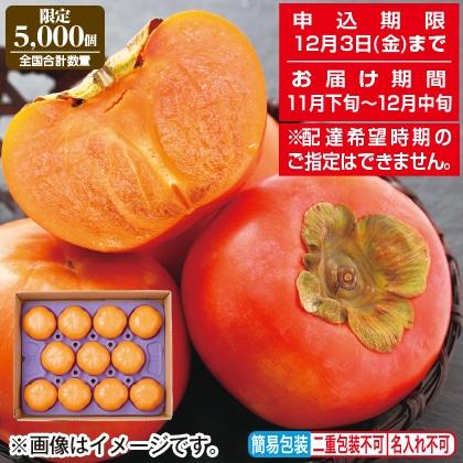 <※お歳暮対象商品>和歌山県産 富有柿