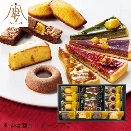 <※お歳暮対象商品>ID47×日本橋菓寮 日本の素材 タルトアソート