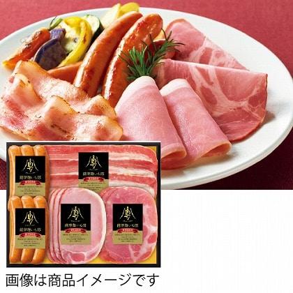 <※お歳暮対象商品>ID47 鹿児島県産薩摩麹いも豚スライスハム詰合せ