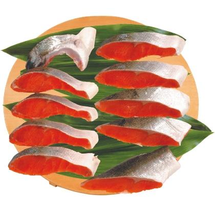 <※お歳暮対象商品>紅鮭半身切身