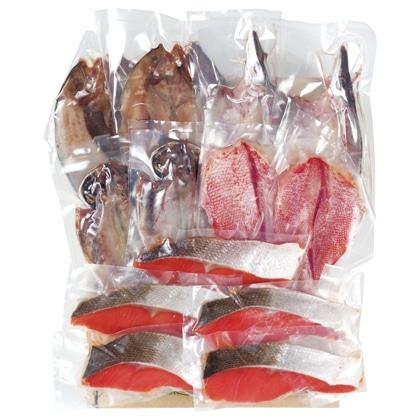 <※お歳暮対象商品>ひもの・紅鮭詰合せ