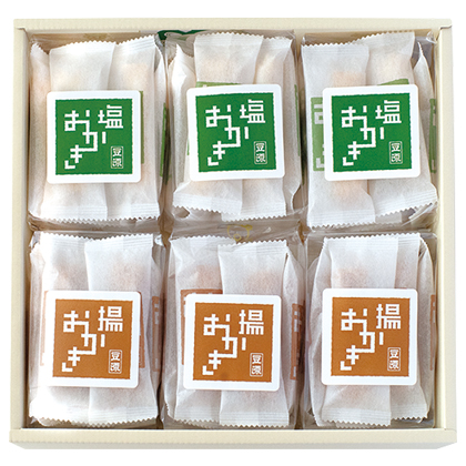 <※お歳暮対象商品>塩おかき・揚おかき(66本入)