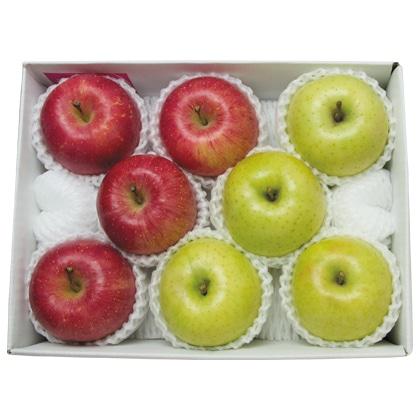 <※お歳暮対象商品>サンふじりんごと王林詰合せ