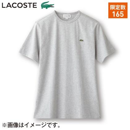 〈※父の日対象商品〉〈ラコステ〉メンズ Tシャツ(グレー・L)