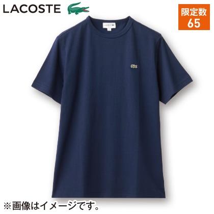 〈※父の日対象商品〉〈ラコステ〉メンズ Tシャツ(ネイビー・XL)