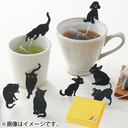〈※敬老の日対象商品〉静岡県産 ねこ茶、わん紅茶セット