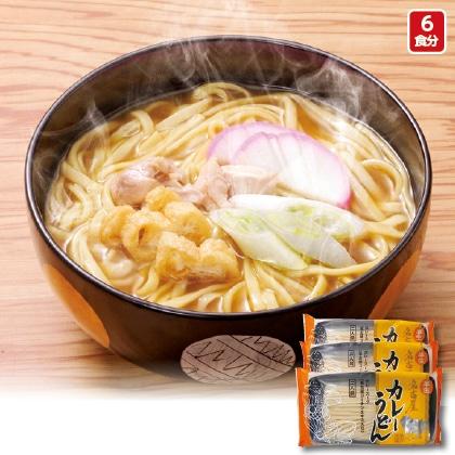 半生名古屋カレーうどん(6食)