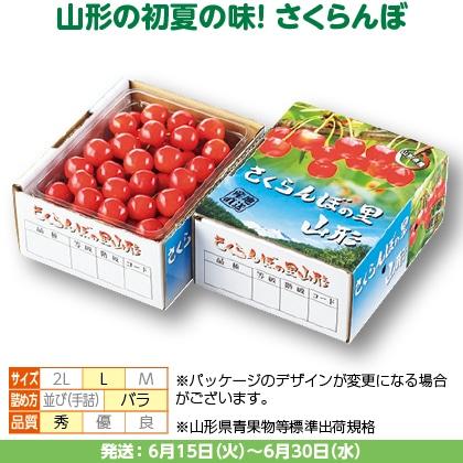 佐藤錦(30)500g(L、秀:バラ詰)