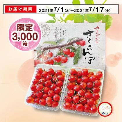 山形のさくらんぼ(紅秀峰)秀品・L又は2Lサイズ 300g×2(バラ詰)